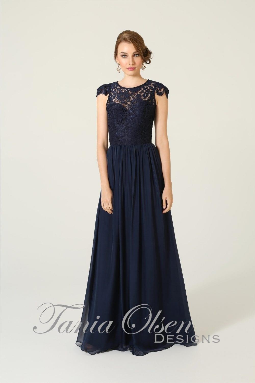 Bridesmaid dress tania olsen design latitia teal for Jessica designs international wedding dresses
